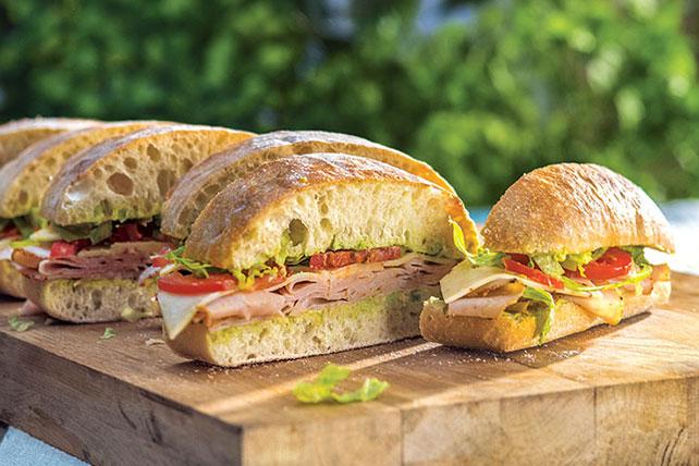 Picante sándwich de pavo con chile jalapeño Image 1