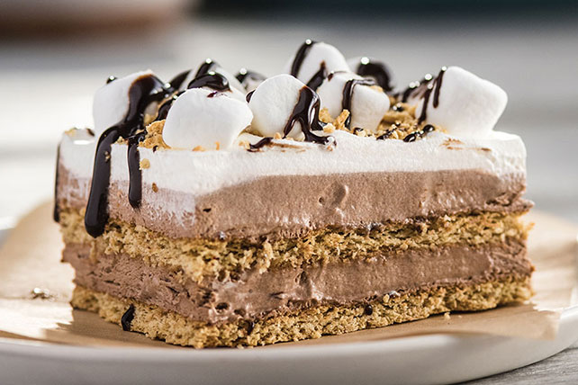 No-Bake S'more 'Cake'
