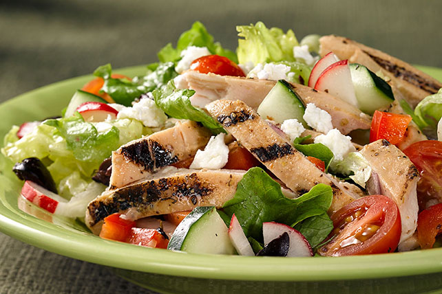 Chopped Greek Chicken Salad Image 1