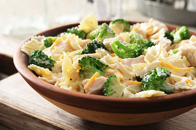 Chicken, Cheddar & Broccoli Pasta Salad