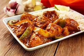 Sweet 'n Sour Chicken and Peppers
