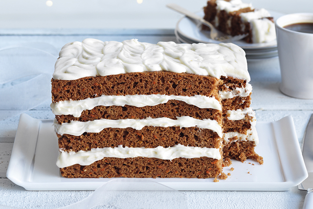 Quick Layered Carrot Cake Image 1