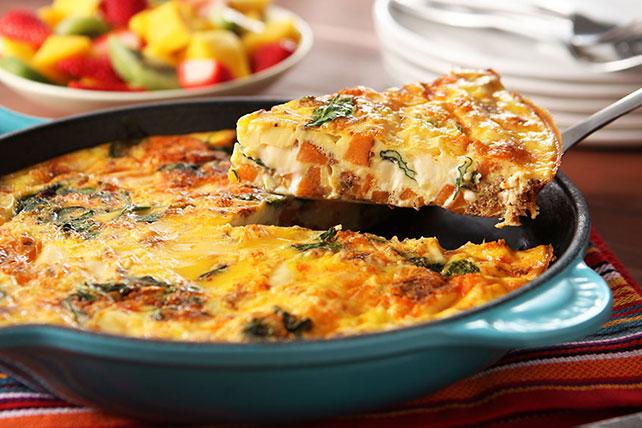 VELVEETA® Frittata with Chorizo Image 1