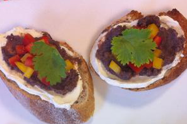 Tartinade mexicaine au jalapeno et aux haricots frits  Image 1