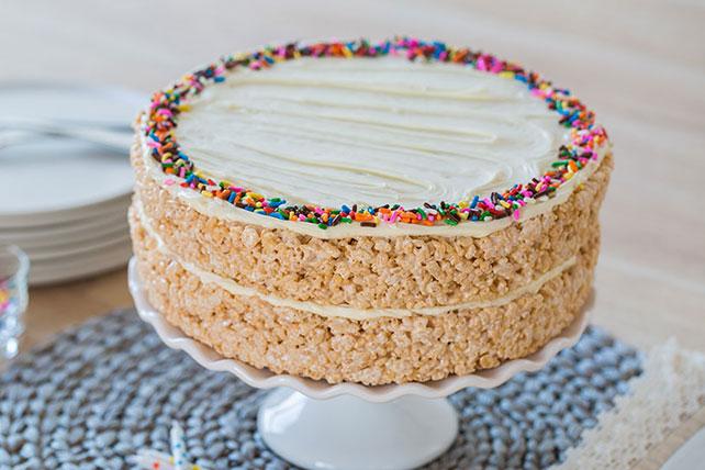 RICE KRISPIES TREATS® Cake Image 1