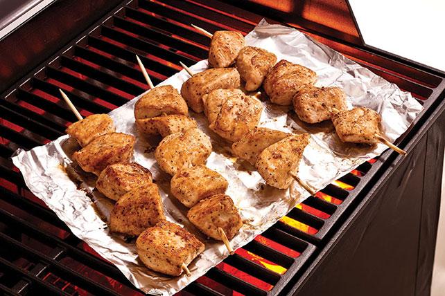 Brochetas de pollo con ajo y queso parmesano Image 1