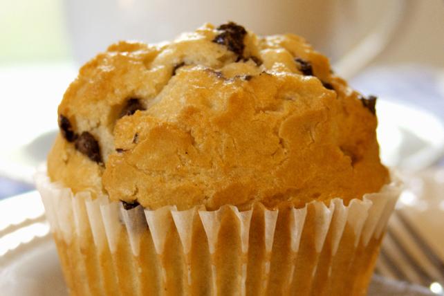 Muffins aux brisures de chocolat Image 1