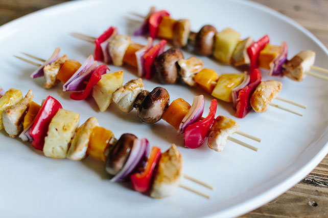 Spicy Tropical Chicken Kabobs Image 1