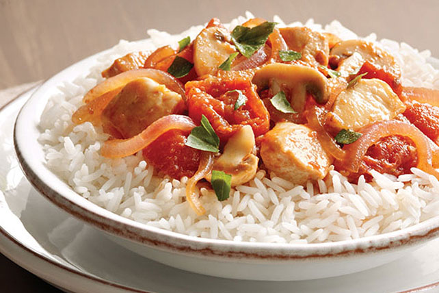 Tuscan Chicken with Tomatoes and Rice Image 1
