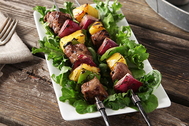 Spicy Mango-Chipotle Beef Kabobs Image 1