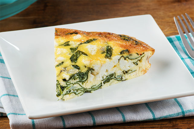 Spinach and Feta Frittata Image 1