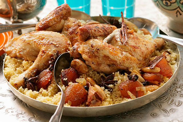 Moroccan Chicken with Couscous Image 1