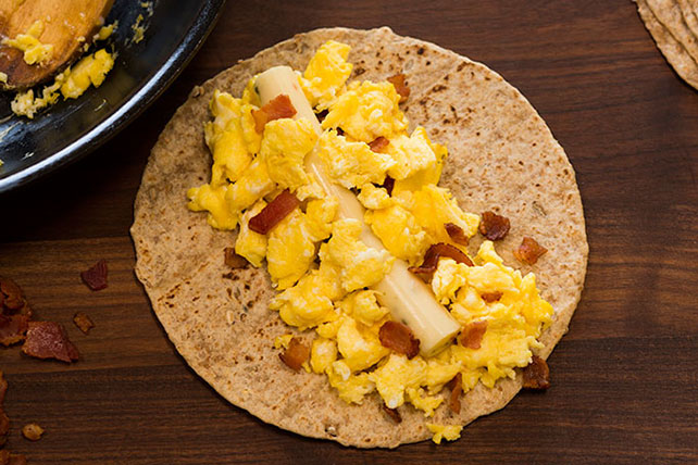 Fiery Egg & Bacon Burrito Image 1