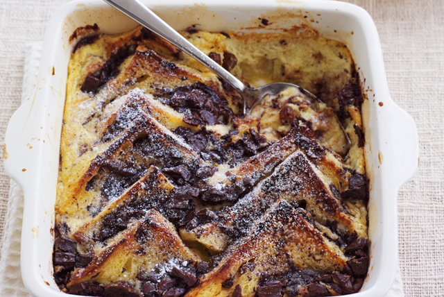 Chocolate-Cinnamon Bread Pudding Image 1