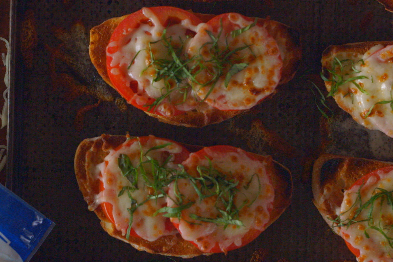 Tomato and Mozzarella Toast Image 1
