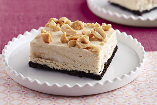 Frozen Peanut Butter and Banana Bars Image 1