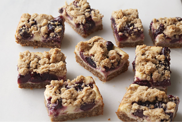 Cherry Oatmeal Bars Image 1