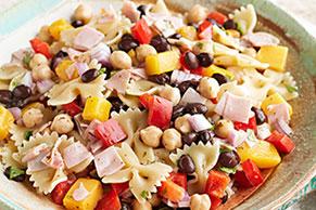 Black Bean Pasta Salad with Habanero Recipe