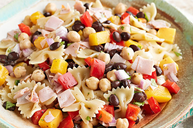 Black Bean Pasta Salad with Habanero Recipe