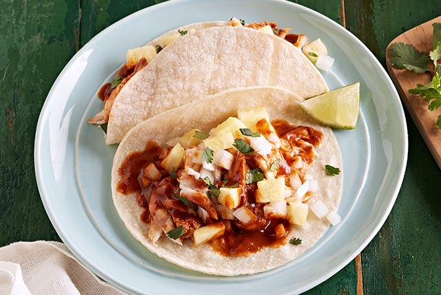 Red Snapper Tacos al Pastor Image 1