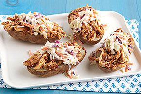 Pulled Chicken Potatoes