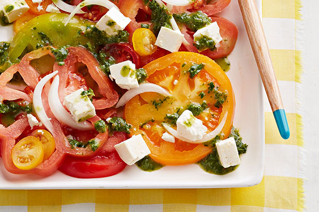 Heirloom Tomato-Feta Salad