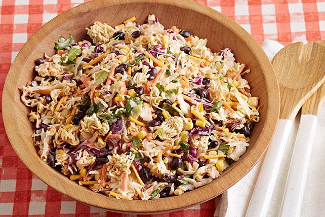 Crunchy Ramen Taco Salad Image 1
