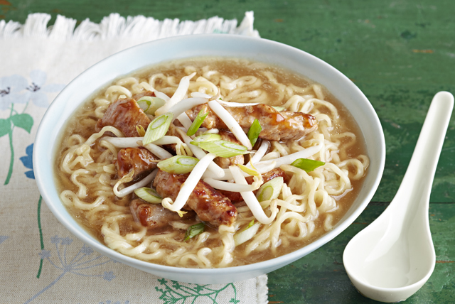 Barbecue Pork Noodle Bowl
