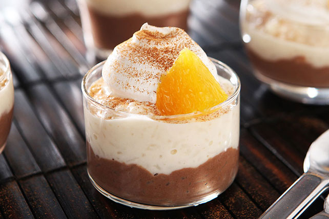 Chocolate-Orange Rice Pudding Image 1