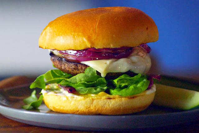 "Portobello-Swiss ""Burgers"" Image 1"