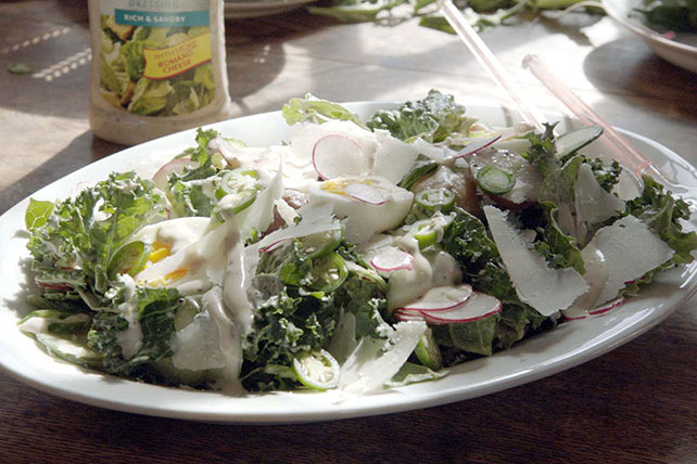 Spicy Kale Caesar Salad Image 1