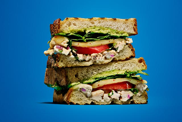 Spicy Chicken Salad Panini Image 1
