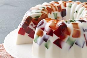 Creamy JELL-O Mosaic Dessert Image 1
