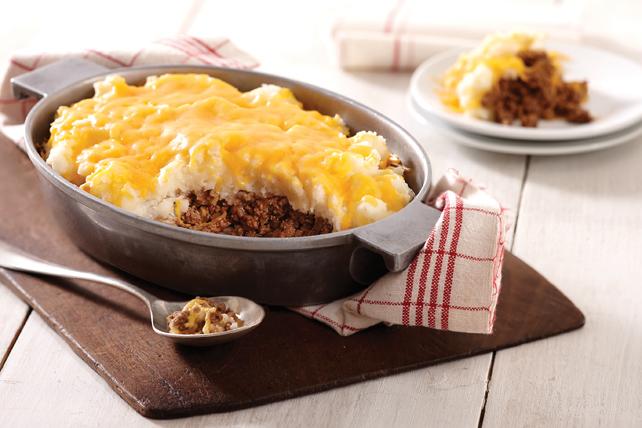 Pâté à la viande et aux pommes de terre au cheddar Image 1
