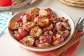 Spicy Grilled Potato Salad