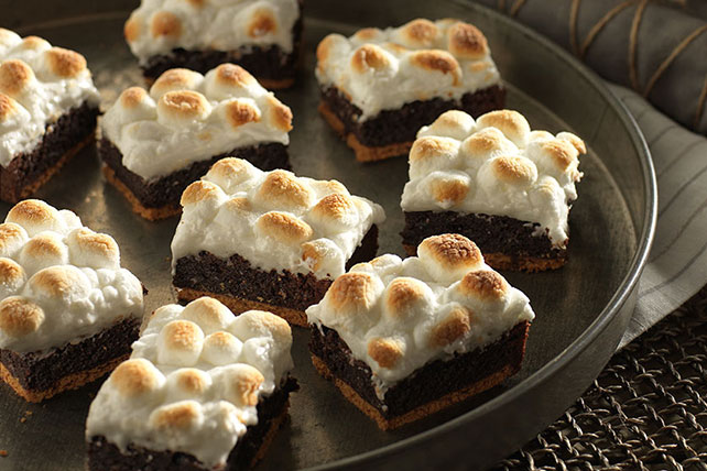 Double-Chocolate S'mores Brownies