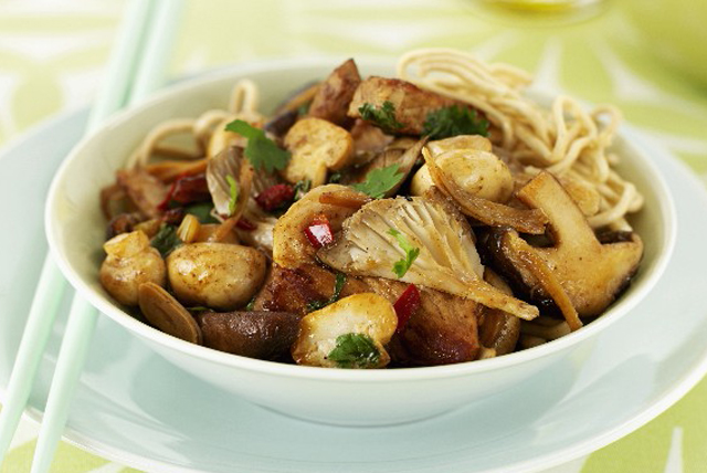 Stir-Fried Pork and Mushrooms Image 1