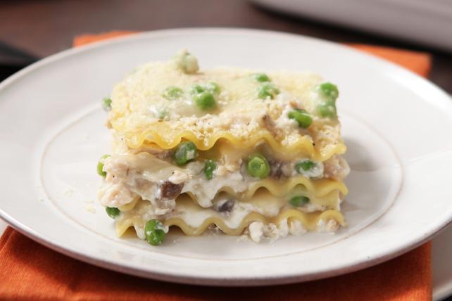 Lasagne au thon et au fromage Image 1