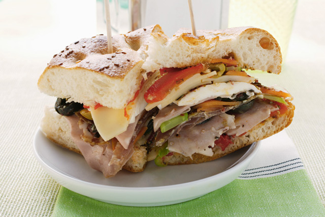 Italian Chicken and Ham Sandwiches Image 1