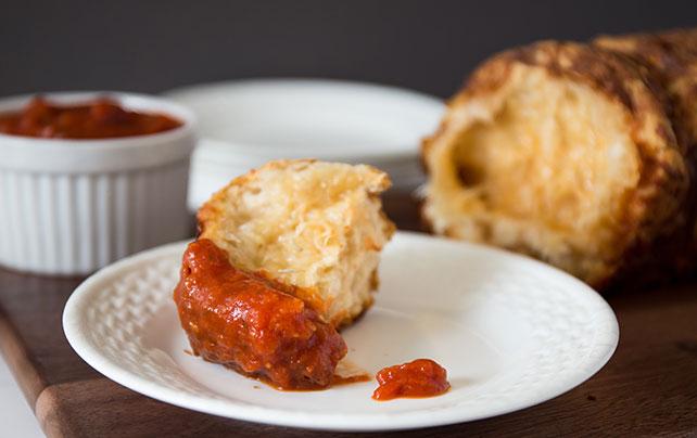 Cheesy Italian Pull-Apart Bread Image 1