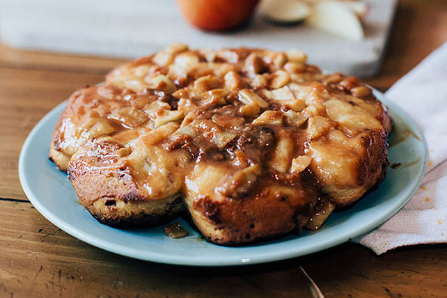 Caramel Apple Sticky Buns Image 1