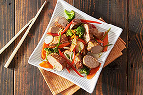 Asian Pork Tenderloin Packets