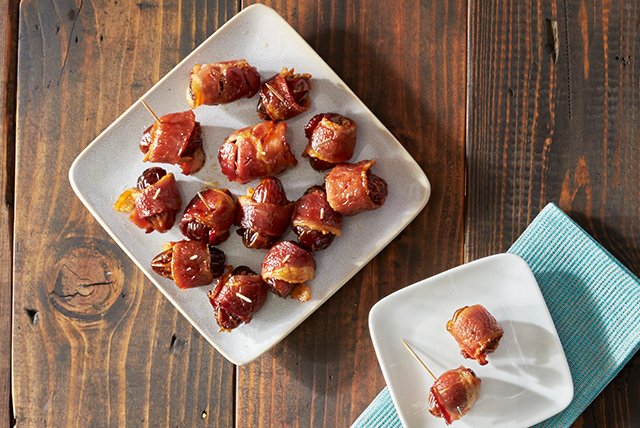 Bacon Wrapped Dates Image 1