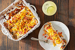 Fiesta-Ready Easy Chicken Enchiladas