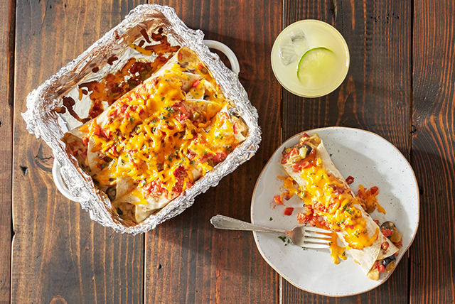 Fiesta-Ready Easy Chicken Enchiladas Image 1