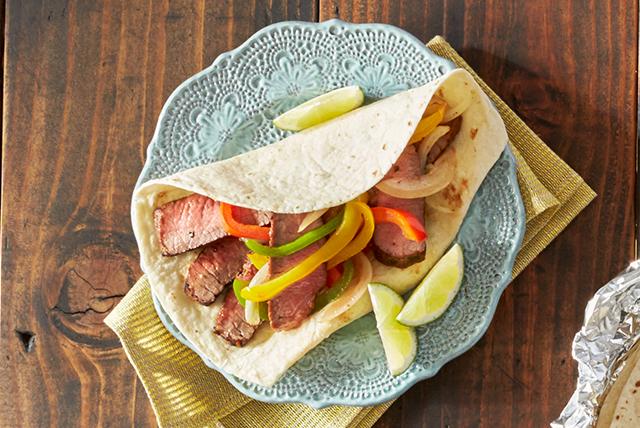 Grilled Beef Fajitas Image 1
