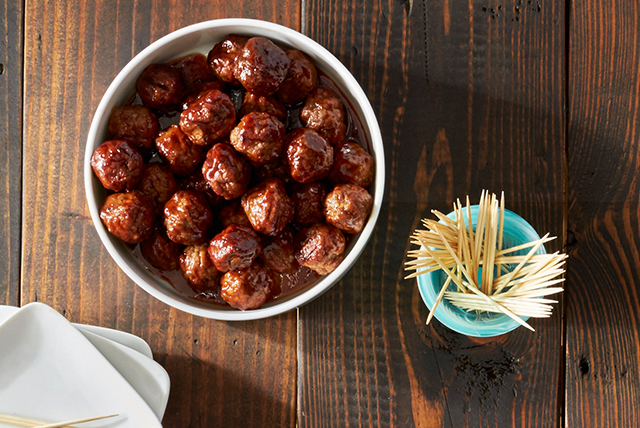 Sweet and Spicy Barbecue Meatballs Image 1