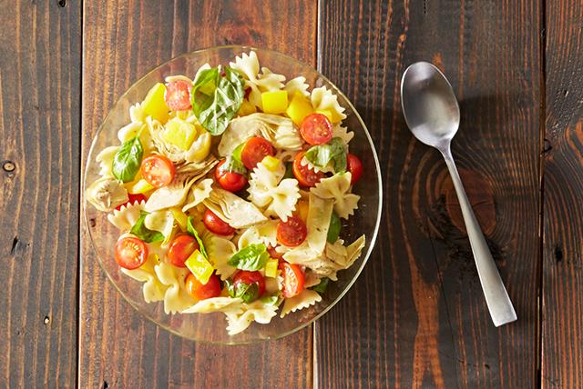 Tomato Basil Pasta Salad Image 1