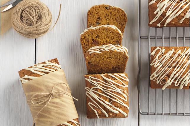 Mini-pains à la citrouille et au chocolat blanc Image 1