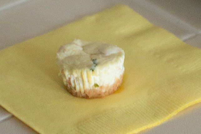 Smoked Salmon Mini Cheesecake Appetizers Image 1
